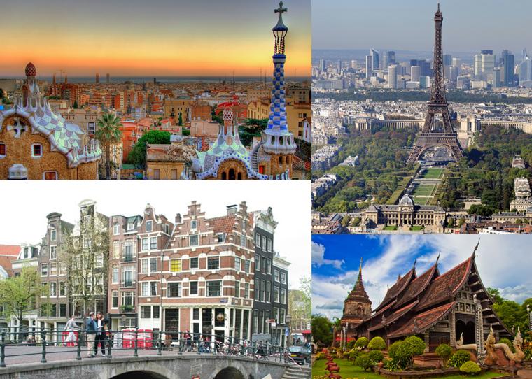 Top summer romantic locations
