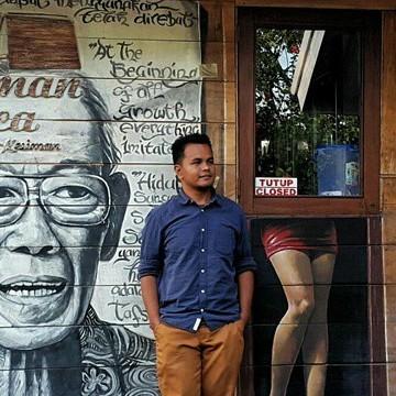 Zulhabri Supian, 35, Denpasar, Indonesia