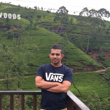 Rizlan, 30, Colombo, Sri Lanka