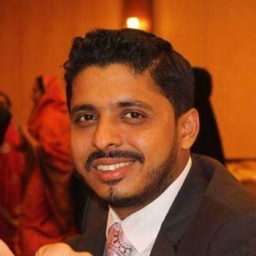 Shihab Azeez, 32, Dubai, United Arab Emirates