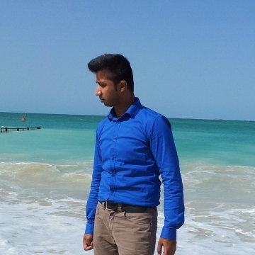 Afroz Ahmad, 31, Dubai, United Arab Emirates