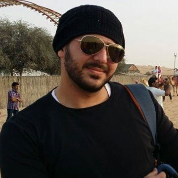 Hussam Arafat, 29, Dubai, United Arab Emirates