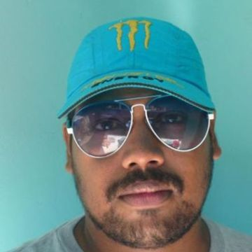 Manoj Achary, 29, Sharjah, United Arab Emirates
