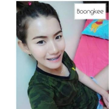 Boongkee Sirinapa, 25, Bangkok Noi, Thailand