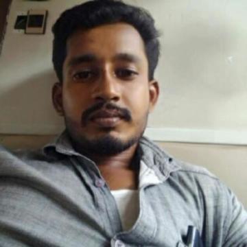 jiby John, 28, Chengalpattu, India