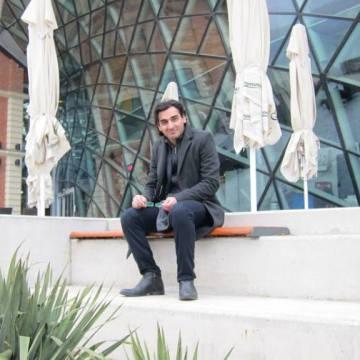 Farid Dianat, 30, Milano, Italy