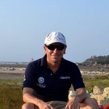 John Sarmiento, 43, Bogota, Colombia