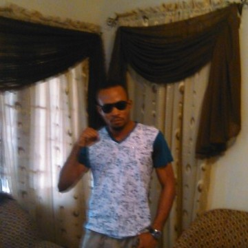 Owen Lambert Omoregie, 33, Benin-city, Nigeria