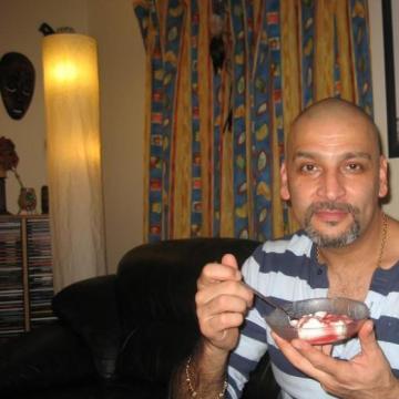 Chris Brown, 50, London, United Kingdom