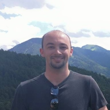 John Pittman, 30, Munchen, Germany