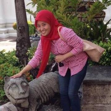 Aisyah Indriana, 29, Jakarta, Indonesia