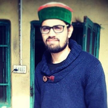 Vishant Sharma, 23, Hamirpur, India