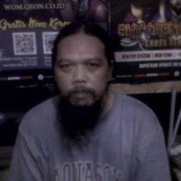 Backie Oncom, 43, Jakarta, Indonesia