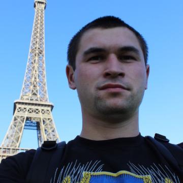 Victor Mosiychyk, 26, Korosten, Ukraine
