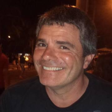 Gustavo Faria, 50, Necochea, Argentina