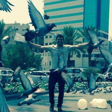 Ibrahem Abu Hamed, 31, Bisha, Saudi Arabia