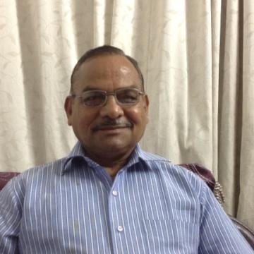 Ashok Kumar Parashar, 64, Dubai, United Arab Emirates