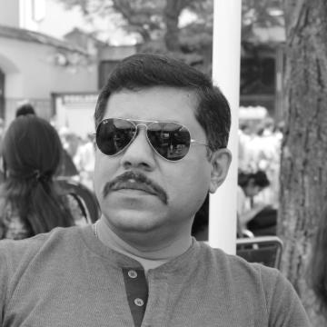 D P Satapathy, 44, Ahmedabad, India