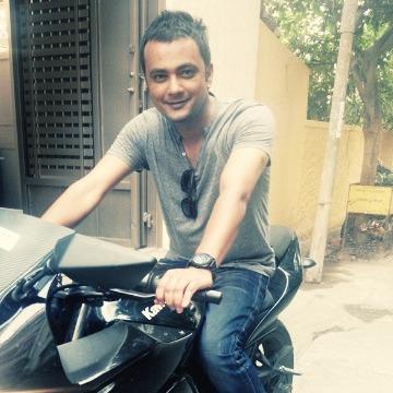 Bindesh Vijayan, 36, Bangalore, India