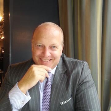 John J Gatsby, 53, Zurich, Switzerland