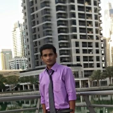 Vipin Madhav, 26, Dubai, United Arab Emirates