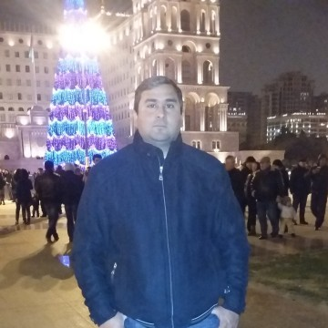 Musfiq Qocayev, 40, Baku, Azerbaijan