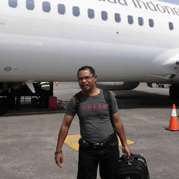 John Mbassa, 52, Pontianak, Indonesia