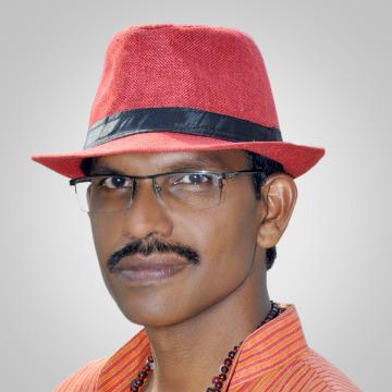 Vijay P Nair, 48, Trivandrum, India