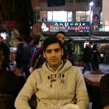 ahmed, 27, Ankara, Turkey