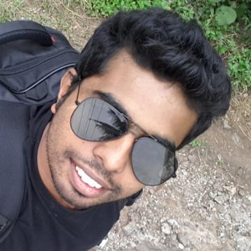 Sheraj Raju, 27, Kottayam, India
