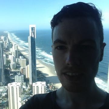 James Russell, 29, Melbourne, Australia