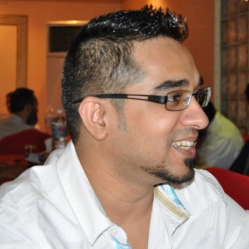 Nabeel Rizwan, 34, Jeddah, Saudi Arabia