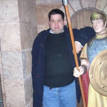 David Velasco Martinez, 44, Zaragoza, Spain