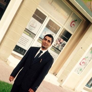 Chander Shekhar Chauhan, 29, Dubai, United Arab Emirates