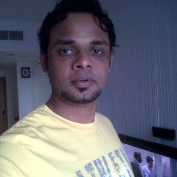 Raghavendra Bhandary, 33, Dubai, United Arab Emirates