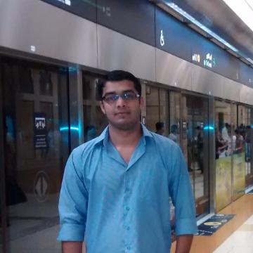 Muhammad Arshad, 28, Dubai, United Arab Emirates