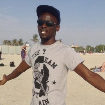 Dauda Afegbua, 33, Dubai, United Arab Emirates