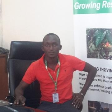 Amadu Musah, 29, Sunyani, Ghana