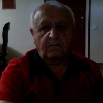 Melik Vardanyan, 61, Yerevan, Armenia