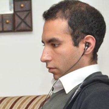 Khaled Gamal, 27, Cairo, Egypt