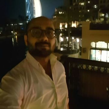 Muhammad Madani, 35, Dubai, United Arab Emirates