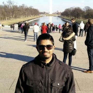 Arun Deepak, 27, Virginia Beach, United States