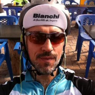 Santiago Mazabel, 39, Bogota, Colombia