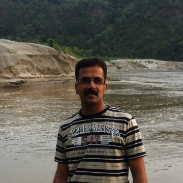 Harish Jamwal, 39, Indi, India
