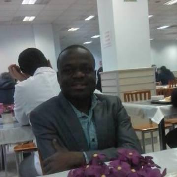 Timothy Ugbodu, 40, Istanbul, Turkey