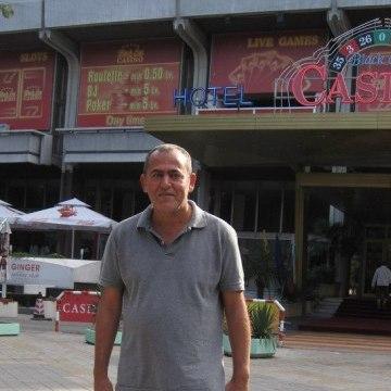 Harris, 46, Istanbul, Turkey