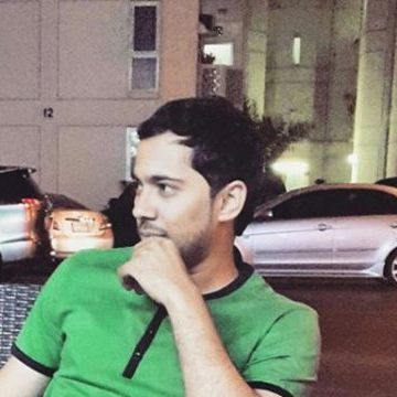 Ibrahim Khan, 27, Dubai, United Arab Emirates