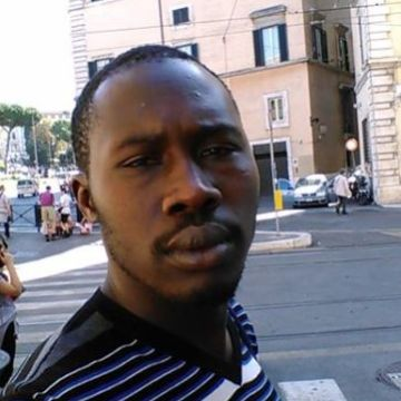 Saer Diop, 33, Rome, Italy