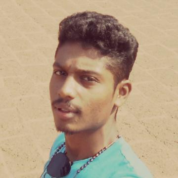Basil George , 21, Kochi, India