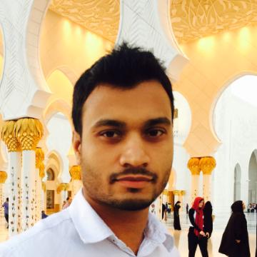 Mohammed Uddin, 30, Dubai, United Arab Emirates